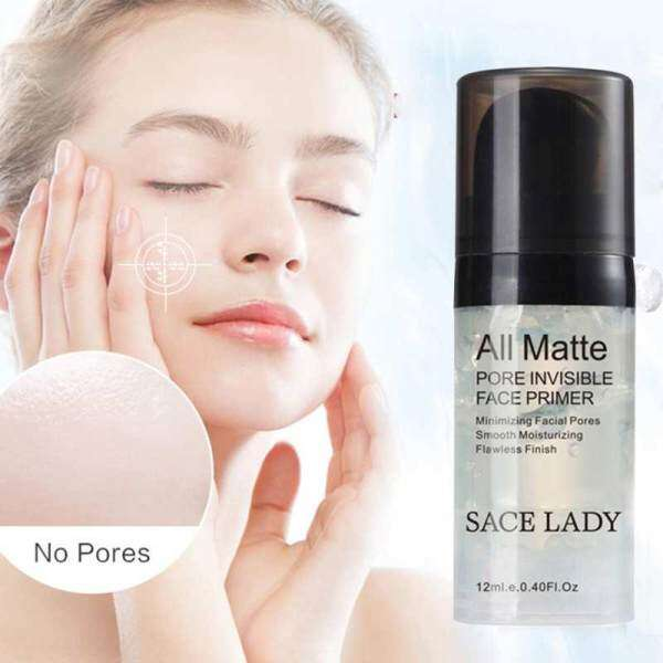 DXY SACE LADY Face Primer Base Makeup Natural Matte Make Up Foundation Primer Pore Invisible Extend Facial Oil-control Cosmetic - intl Philippines