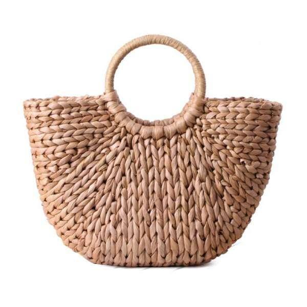 b9c39728d351 Womens Hand Bag Large Shoulder Tote Bag Bucket Summer Bags Women Tassel  Rattan Bag Braided(