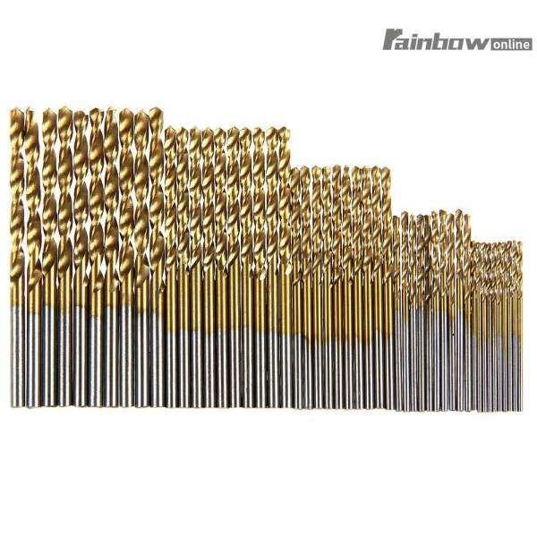 ... Bits Set for Dremel Grinding Carving Shaping Rotary Tools - intl. Source · 50Pcs Titanium Coated HSS High Speed Steel Drill Bit Set Tool 1/1.5/2