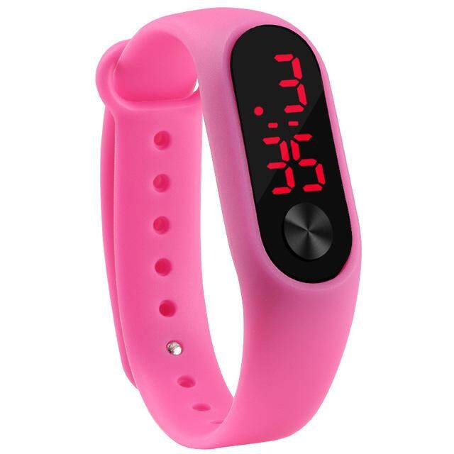 Fashion Lovers' Led Sport Watches Children Kids Electronic Wristwatch Men Outdoor Simple Watch Women Digital Bracelet Watches