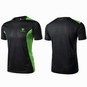 Mens Outdoor Quick-drying Breathable O-neck Short Sleeve Casual Sport T-shirt