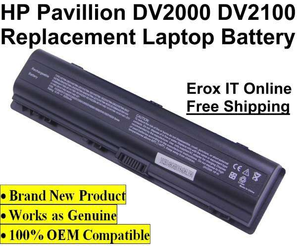 Replacement Battery for HP Compaq Presario V3000 Series /HP DV2000 Replacement Battery Malaysia