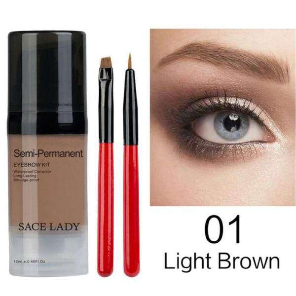 DXY SACE LADY Henna Shadow For Eyebrow Gel Waterproof Makeup Tint Natural Eye Brow Enhancer Brand Makeup Cream Long Lasting Cosmetic - intl Philippines