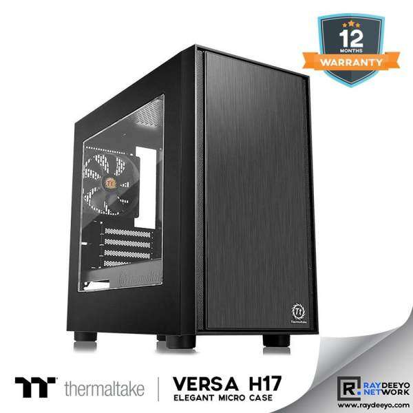 Thermaltake Versa H17-Window Black Chassis [Matx, Mini-ITX] Malaysia