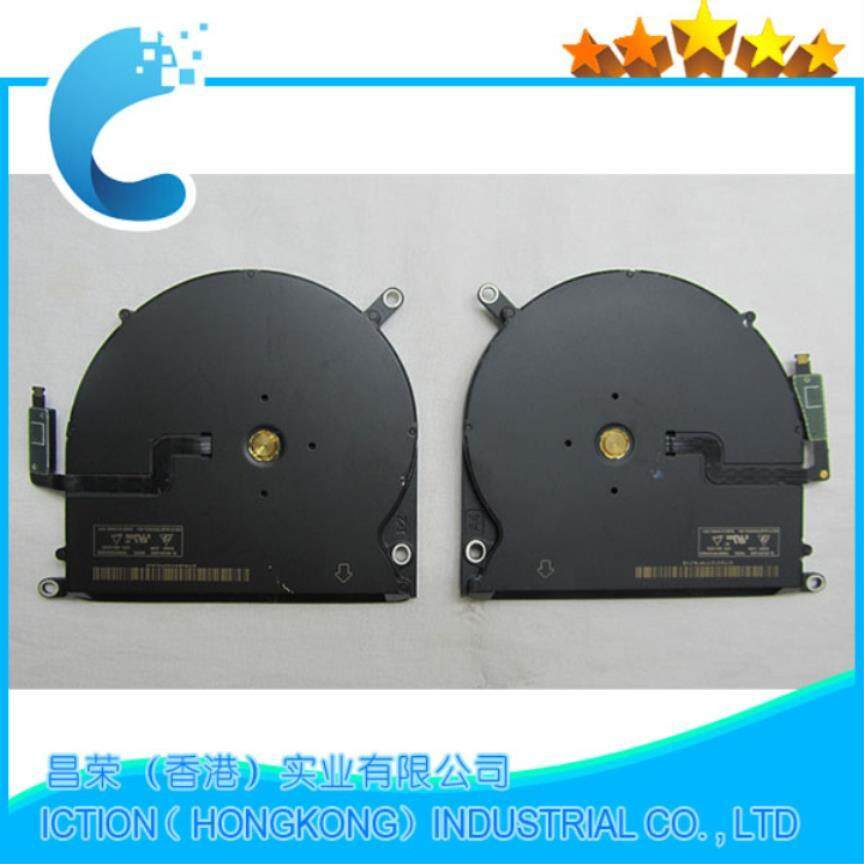 Original New Cpu Cooling Fan A1398 Left + Right Set For Macbook Pro Retina 15.4 A1398 Late 2013 Mid 2014 Early 2015