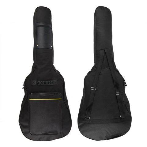 "Padded Gig Bag Backpack 40"" 41"" Guitar Case Acoustic Double Straps Backpack"
