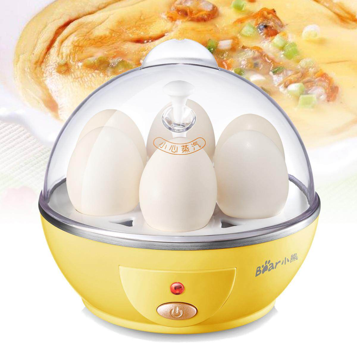 6 Egg Boiler Multifunction Mini Electric Cooker Steamer Poacher Auto Power-Off - Intl By Freebang.