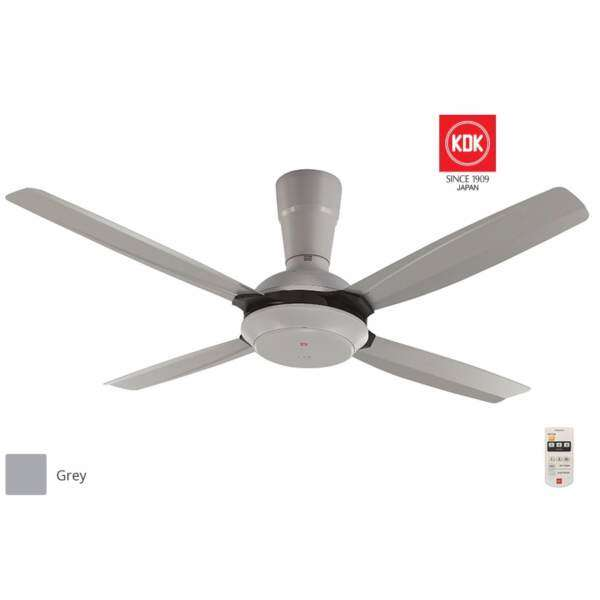 Kdk k14x5 gy 56 remote control ceiling fan grey malaysia aloadofball Images
