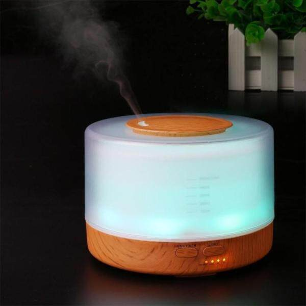 leegoal Cool Mist Humidifier Home Fragrance Diffuser 2-in-1, Classical Style With 7 Colors Light Mode, Large Capacity Enough For - intl Singapore