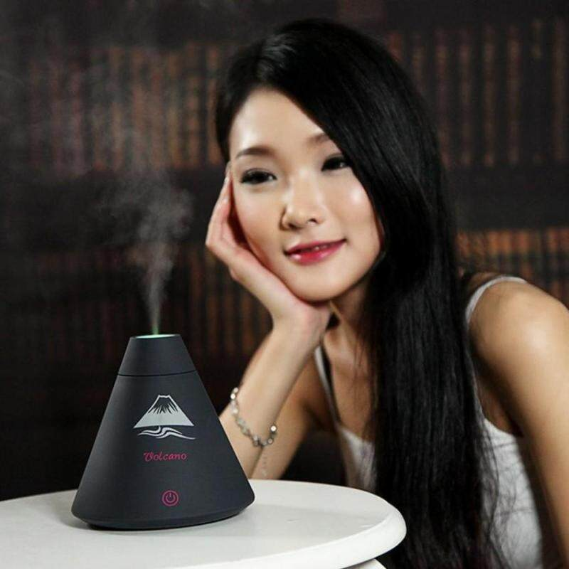 leegoal Creative Volcano USB Humidifier, Cool Mist Humidifier, Essential Oil Diffuser, Air Purifier For Home Office School Bedro - intl Singapore