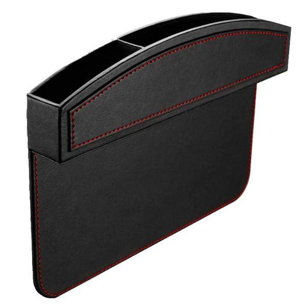 ouhofus Kobwa Car Seat Side Pocket, PU Leather Car Seat Console Side Anti Drop Gap Filler Storage Catcher - intl Singapore