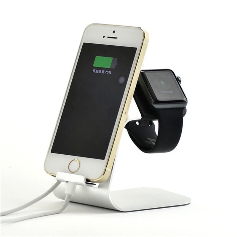 2 in 1 Aluminum Holder Charger Dock Station For Watch Malaysia