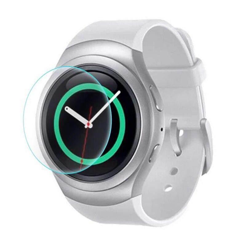 0.3 Mm Kaca Melunakkan Layar Pelindung untuk Samsung Perlengkapan S2/S2 Klasik Pintar Jam Tangan Transparan-Internasional