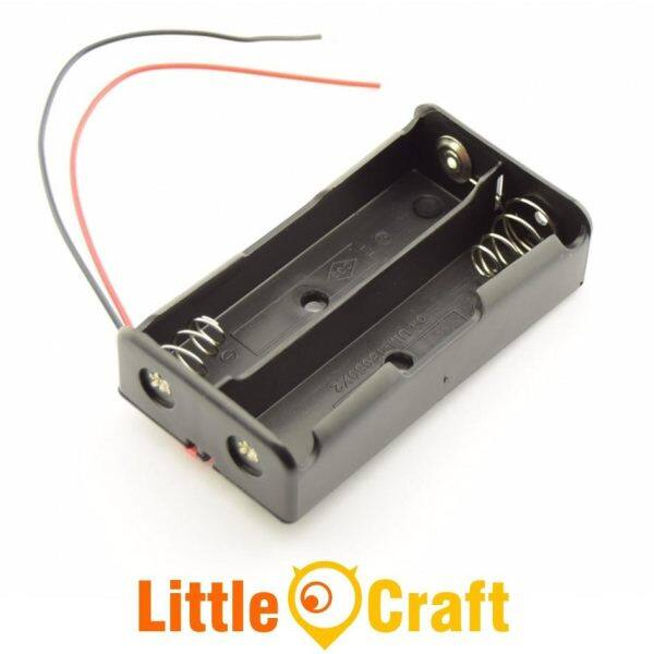 18650 Double Cell Two Slot 3.7V Battery Holder Malaysia