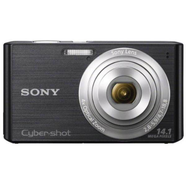 360 Kamera Sony Cyber-shot DSC-W610 14.1 Kamera Digital MP dengan 4x Optical Zoom dan 2.7-Inch LCD (HITAM) (2012 Model)-Intl