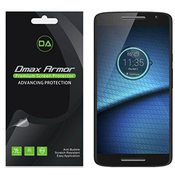 [6-Bungkus] DMAX Pelindung Motorola Droid Maxx 2 Anti Silau & Anti-sidik Jari (Warna Tidak Mengkilap) -Penggantian Seumur Hidup Warranty-Eceran Pengemasan-Internasional