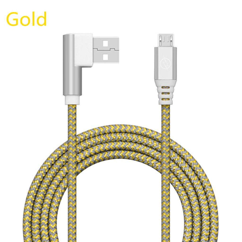 90 Degree USB To Micro USB Data Charging Cable For Android Phone - intl