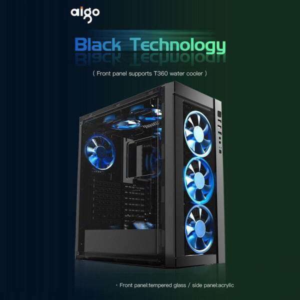 Aigo Black Technology Front Tempered Glass Full Window CASING ONLY Malaysia