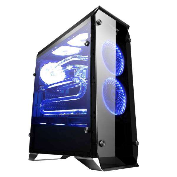 Armaggeddon Infineon 5000 ATX Gaming Tower (Fully Tempered Glass Front & Side Panel) Malaysia