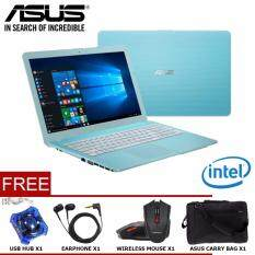ASUS VivoBook Max X441NA Series Notebook/Laptop (INTEL®DUAL-CORE N3350/4GB/500GB/14/DVDRW/WIN10) Malaysia