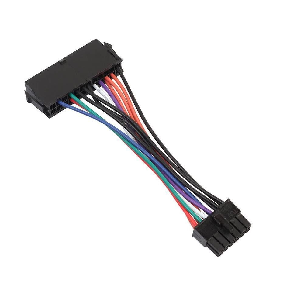 ATX 24Pin to 12Pin Computer Power Supply Converter Adapter Cable 18AWG Wire - intl