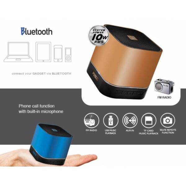 Audiobox P3500 Bluetooth Speaker USB MicroSD AUX FM radio Malaysia