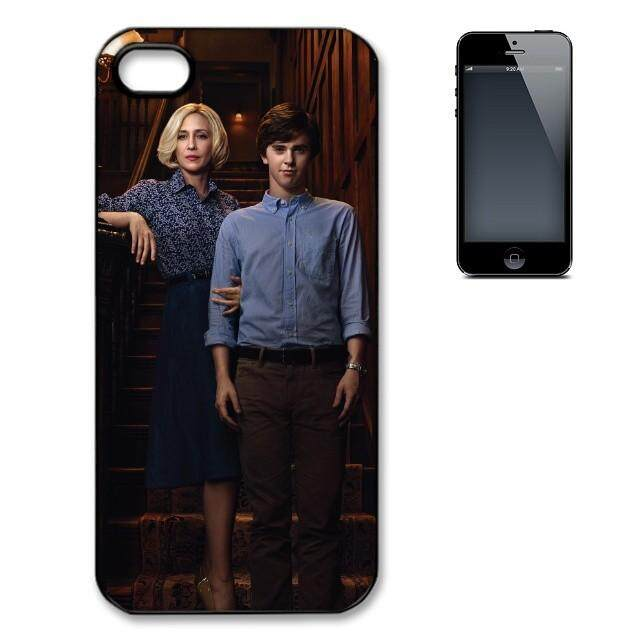Bates Motel Norma and Norman Bates phone case high quality PC + TPU+ Rubber cover for Apple Iphone 7 plus - intl