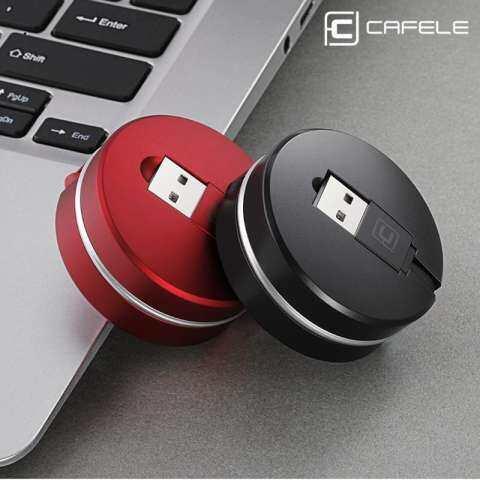 Cafele 1 M Teleskopik USB Kabel Tipe C Portabel Fleksibel Pengisian Data Sinkronisasi Kabel Kabel untuk Samsung Galaksi S8 PLUS catatan 8 Piksel 2 XL Moto Z Z2 LG G5 G6 V30 Huawei Xiaomi OPPO 6