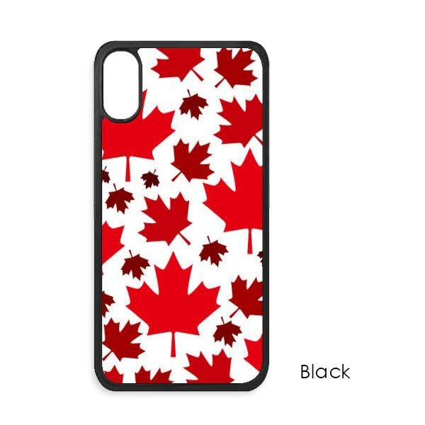 Kanada Rasa Daun Kanada Maple Bendera iPhone X Case S Iphone Case Penutup iPhone Casing Ponsel Hadiah-Intl