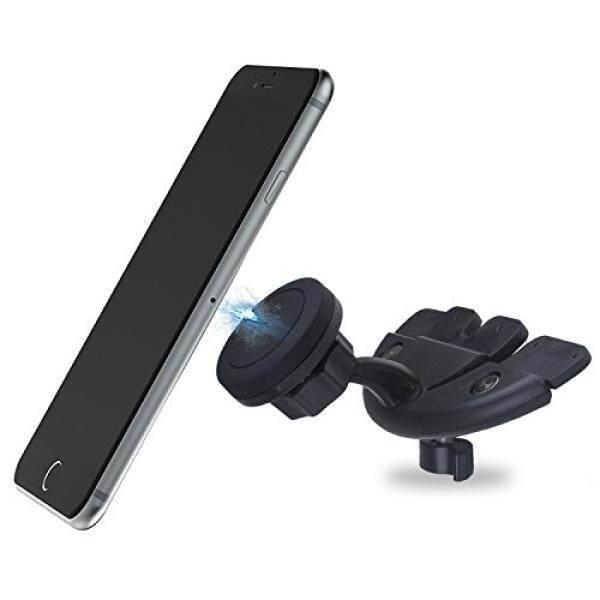 Mobil CD Pemutar Telepon Dudukan, Techken Fleksibel Telepon Penahan untuk Review Mobil CD Pemutar Slot Gunakan untuk iPhone, ponsel Pintar Android atau Lain Ukuran Phone. -Internasional