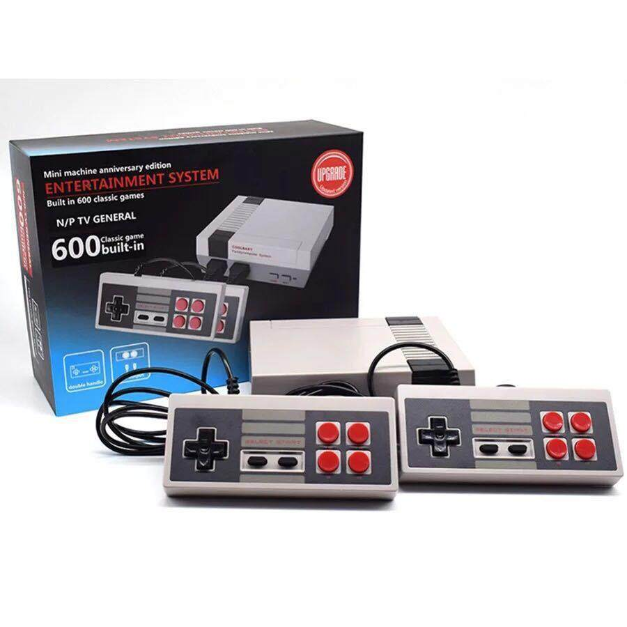 Classic Family Game Consoles Professional System For Nes Game Player Built-In 600 Tv Video Game With Dual Controllers Models:general Standard Edition Specification:uk Plug - Intl By Redcolourful.