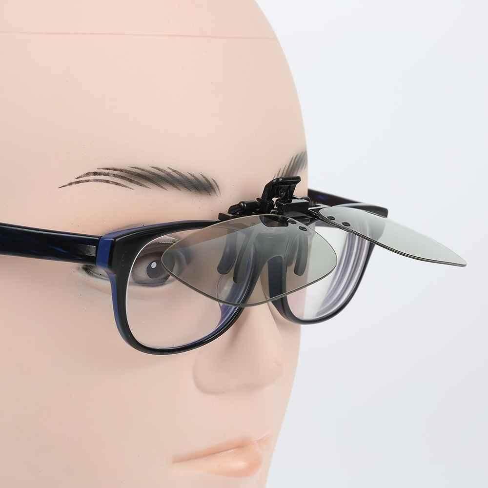 Clip On Polarized Circular 3d แว่นตาสำหรับ Passive ทีวีบ้าน Imax โรงภาพยนตร์ภาพยนตร์ฟิล์ม - Intl.