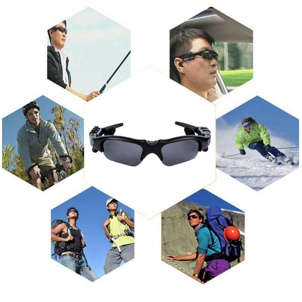 Hình ảnh Cocotina Universal Smart V4.1 Wireless Bluetooth Sunglasses Stereo Headphone