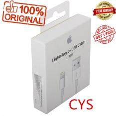 CYS Buy 1 Free 1 100% Foxconn 1M USB Lightening Sync Data Cable for iPhone 5 5S 6 6 Plus 6S 7 8 X iPad