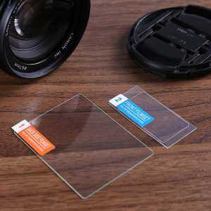 Hình thu nhỏ sản phẩm D850 Tempered Glass Screen Protector Toughened Protective Film LCD Camera Screen for Canon(Black)
