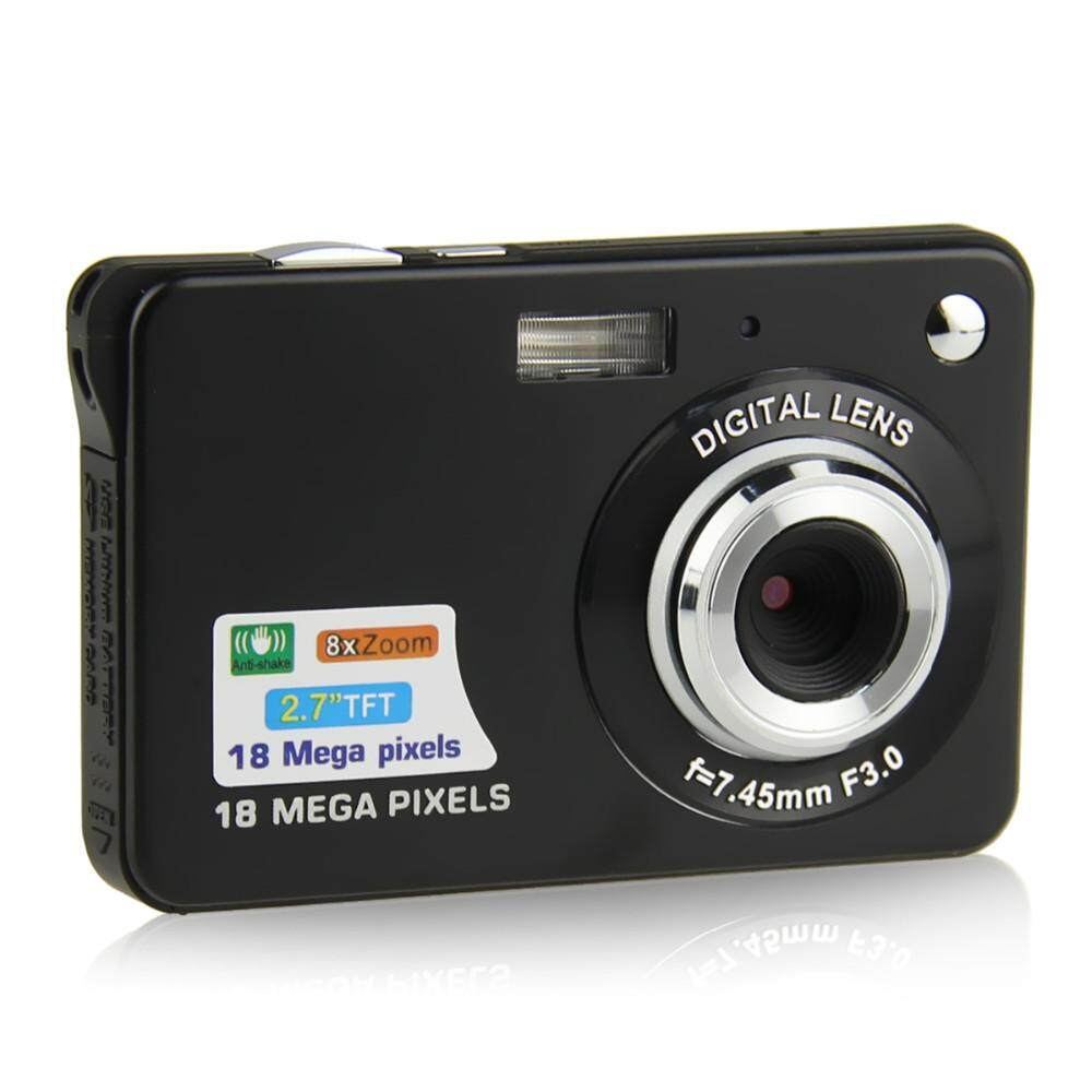 Hình ảnh Digital Camera 18 MP CMOS 2.7 inch TFT LCD Screen HD 720P Flash Camcorder Hot - intl