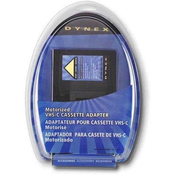 Dynex DX-DA100611 - Video cassette adapter VHS-C to VHS - intl