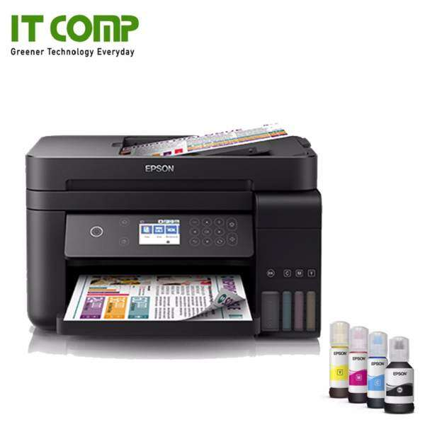 Epson L6170 WiFi Print CopyScan Original Color Ink Tank Printer Malaysia