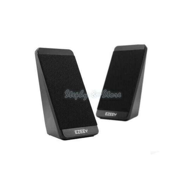 EZEEY S5 - USB 3.5mm Speaker for Desktop Laptop Notebook Tablet FM Radio SmartPhones PC Malaysia