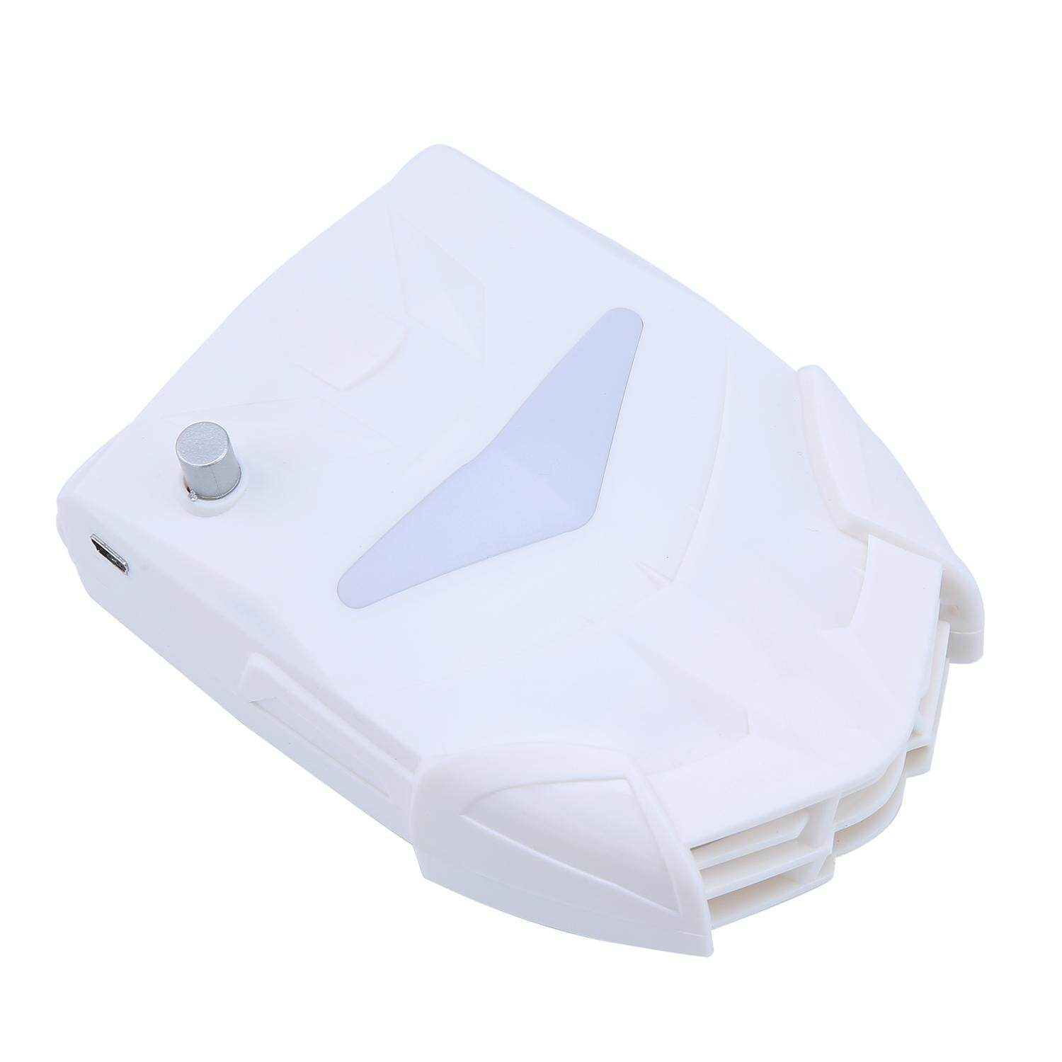 foorvof Laptop Cooler with Vacuum Fan, Laptop Air Extracting Cooling Fan (White) - intl