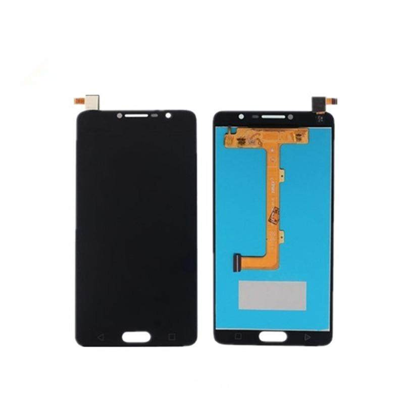 For Alcatel One Touch Flash Plus 2 5095 OT5095 LCD Display With Touch Screen Digitizer Assembly, Black - intl