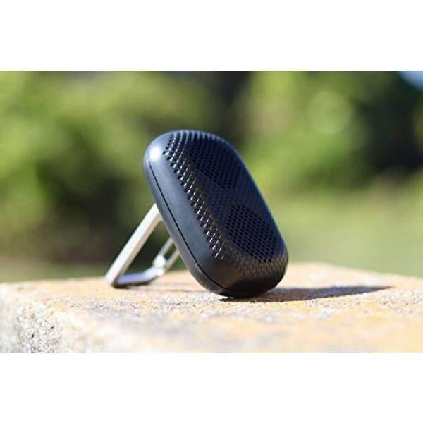 Freshetech Mini Medan Pembicara Bluetooth Portabel-Ultra Portabel Pembicara Bluetooth Nirkabel Ringan Mini Pembicara dengan Carabiner Klip Berdiri Sempurna untuk Perjalanan, hitam-Internasional