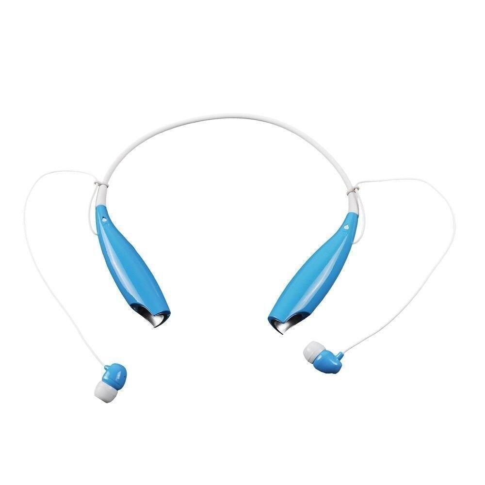 GAKTAI Nirkabel Bluetooth Handfree Juga Stereo Headset Earphone untuk IPhone LG Samsung (Biru) Kaliber-tinggi-Intl