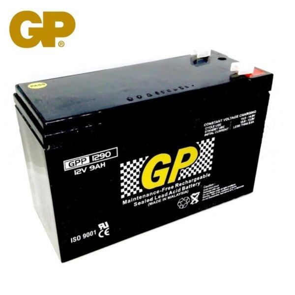 GENUINE GP 12V 9Ah Rechargeable Sealed Lead Acid Battery - GPP1290 Malaysia