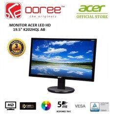GENUINE ACER LED FLAT HD 19.5 ENVIRONMENT-FRIENDLY MONITOR K202HQL AB (UM.IX3SM.A01) WITH LOW BLUE LIGHT CONTENT Malaysia