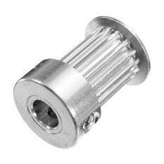 GT2 Pulley 16 Gigi 16 Gigi Bore 5mm Gigi Timing Gear Aluminium untuk GT2 Belt Lebar 10mm Terbaik Kualitas untuk 3D Bagian printer