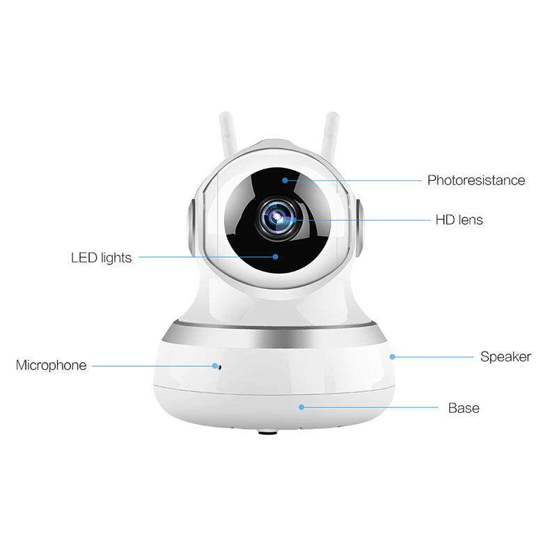 Home Security Spy Camera Motion Detection Webcam Support Two-Way Intercom - intl