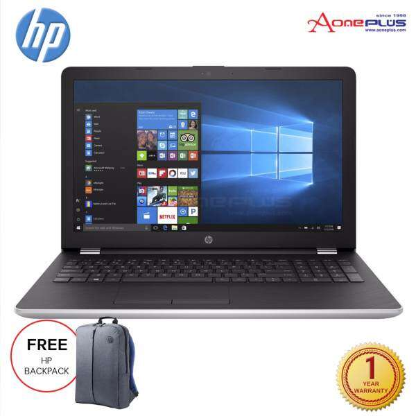 HP 15-bw074AX 15.6 Laptop/Notebook (Silver) + Free HP Backpack Malaysia