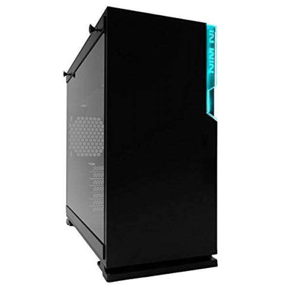 In Win 101C Black USB 3.1 Type-C Gen 2 RGB LED Sync-Ready Micro-ATX Mini-ITX Tower Gaming Computer Case, with Tempered Glass Malaysia