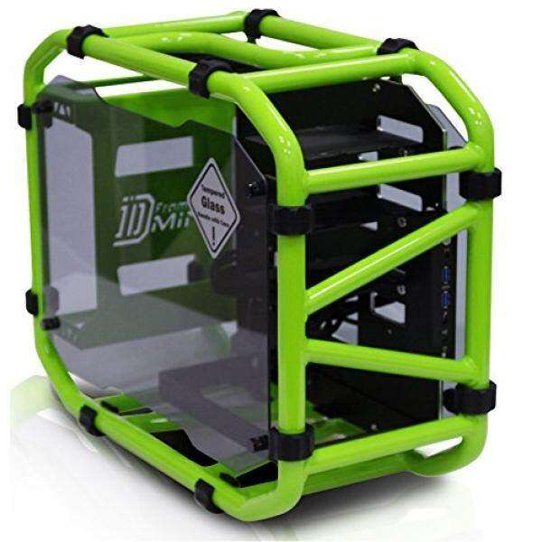 In Win D-Frame Mini Green Motorcycle Steel Tube Mini- ITX computer case Malaysia